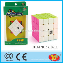 2015 Hot Saling YJ Yusu 4*4 cube Magic Puzzle Cube Educational Toys English Packing for Promotion